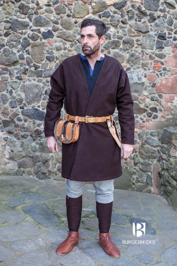 Wool felted brown Loki by Burgschneider