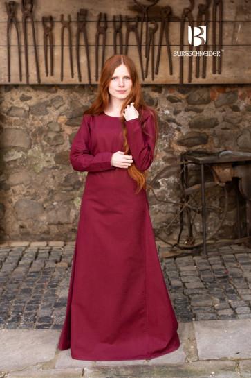 Burgundy Viking Underdress Freya by Burgschneider