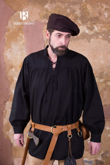 Black Pirate Shirt Störtebecker by Burgschneider