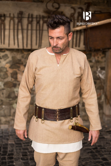 Medieval sand colored Tunic