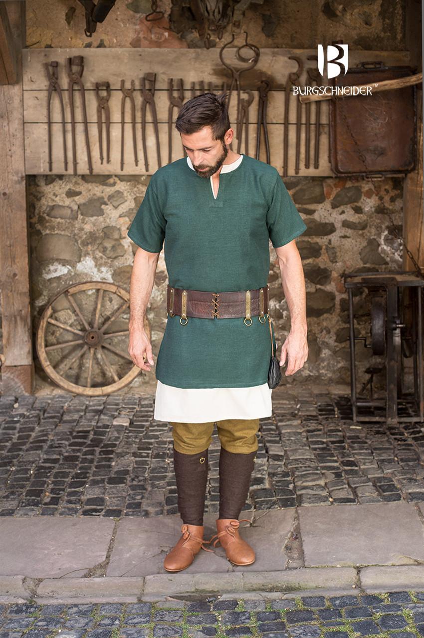Short Sleeve Tunic Aegir Green