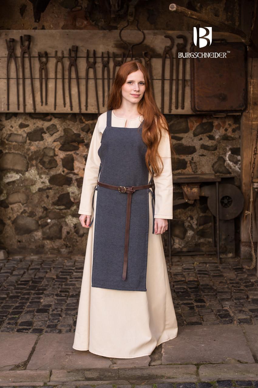 Apron Dress Gyda Grey
