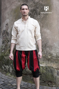 Landsknechtpants Maximilian - Black/Red