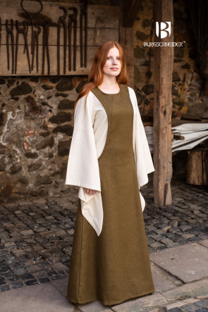 Womens Wool Overdress Albrun by Burgschneider