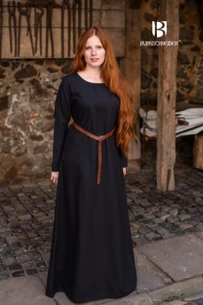 Black medieval Underdress Freya by Burgschneider