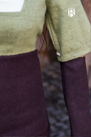 Sleeves Fride - Wool Brown