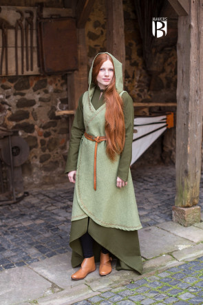 Wrap Dress Dala - Linden Green