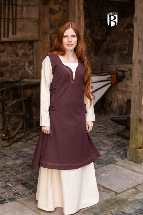Dress Lannion - Brown