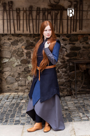 Tunic Meril - Wool Blue