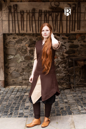 Tunic Meril - Wool Brown