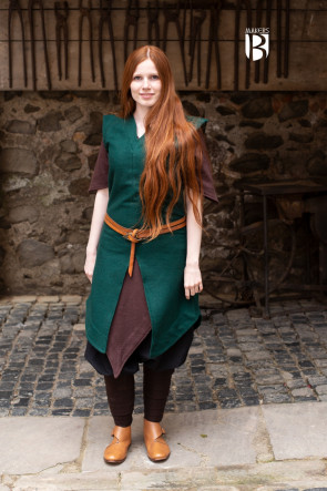 Tunic Meril - Wool Green