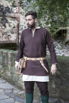 Short tunic Erik - Brown