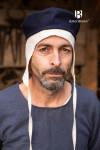 Wool Cap Hugo - Blue