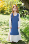 Children's Dress Ylva - Ocean Blue